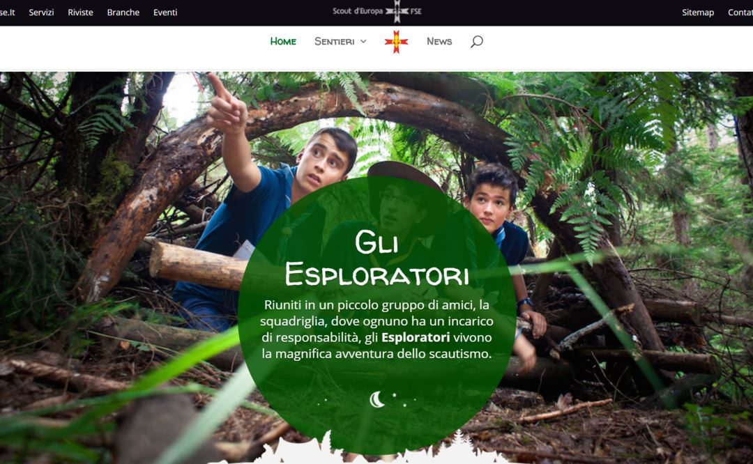 E' on-line il Portale Esploratori